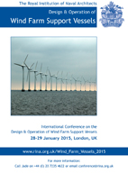 Wind Farm Support Vessel Conference Programme