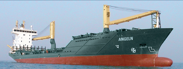 Container ship Angeln Accident report