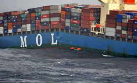 MOL Comfort container ship