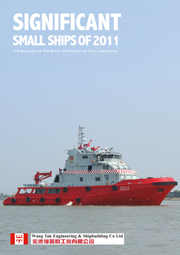 Significant Small Ship 2011 front cover
