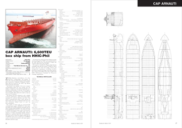 Significant Ships 2013 - page layout