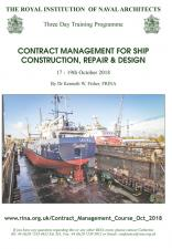 Contract Management Course Oct 2018